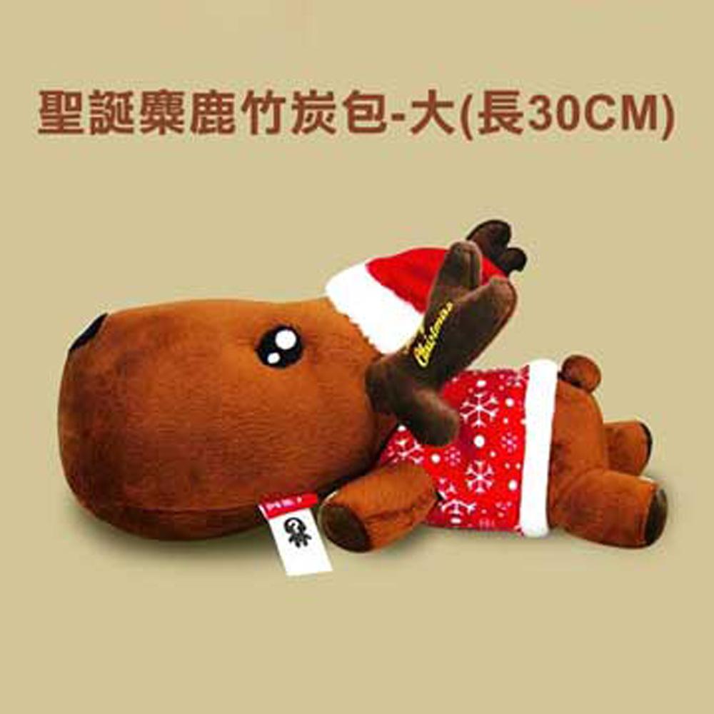 威力鯨車神 一鹿平安吸濕竹炭包-聖誕特別版2入(隨機出貨-聖誕禮物)