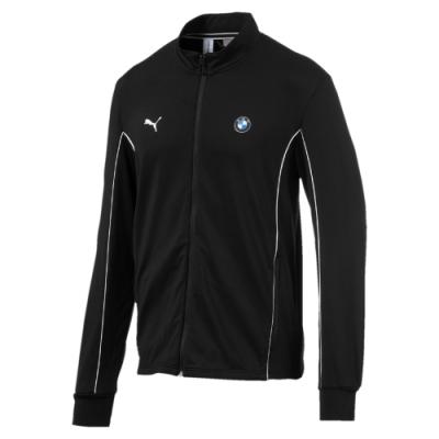 PUMA-男性BMW系列MMS立領外套-黑色-歐規