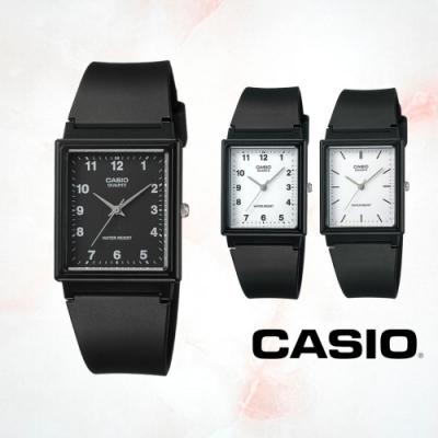 CASIO卡西歐 簡約時尚方型指針錶(MQ-27)