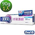 (4/30前不滿意退貨)歐樂B-抗敏護齦牙膏90g(專業修護)