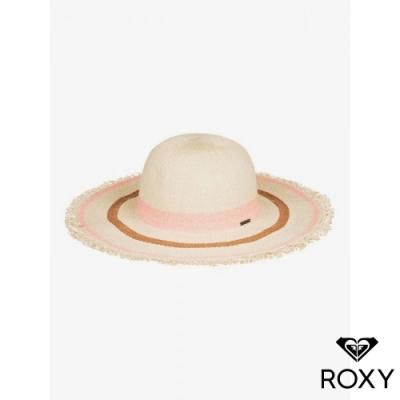 【ROXY】SOUND OF THE OCEAN 草編帽 珊瑚紅