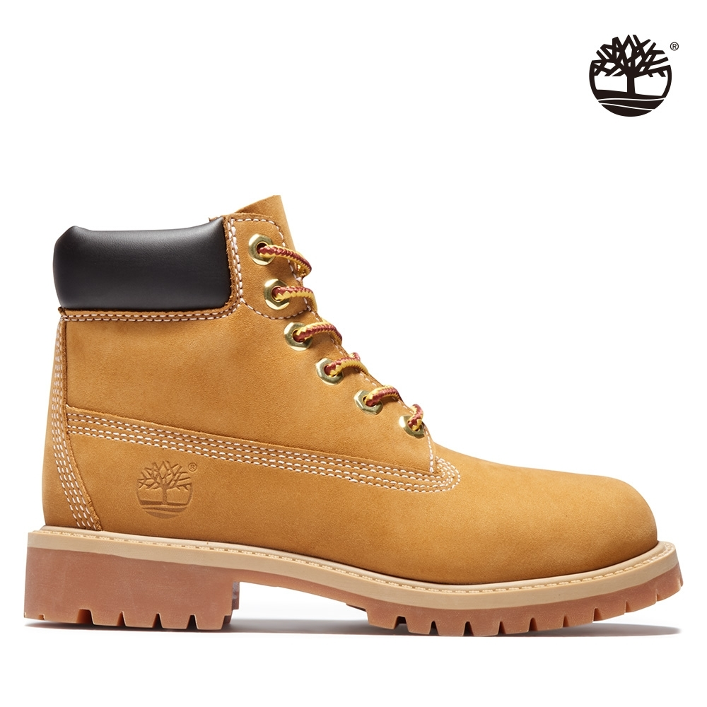 Timberland 童款小麥黃經典防水6吋靴|12709