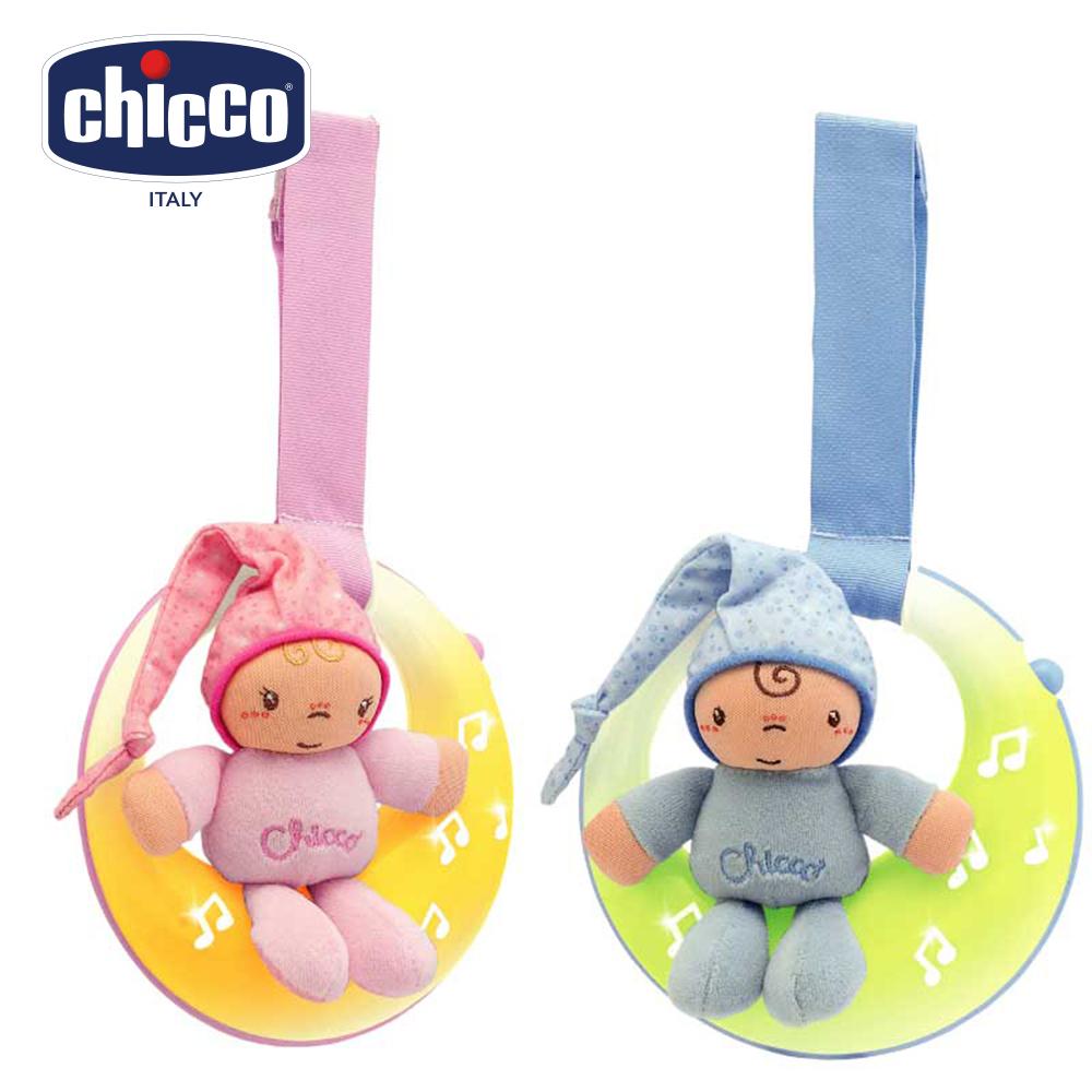 chicco-舒眠月光音樂吊鈴-2色
