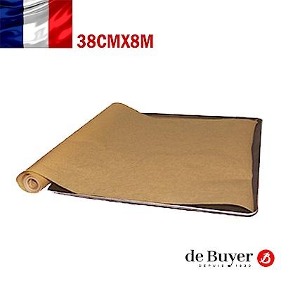 法國de Buyer畢耶烘焙 100%天然不沾拋棄式烘焙紙捲38cmx8m(2入/組)