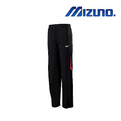 Mizuno 美津濃 男針織運動長褲 黑紅 32TD853296