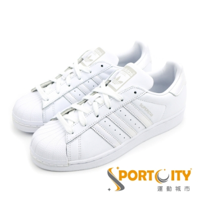 ADIDAS SUPERSTAR 女休閒鞋 AQ1214