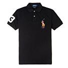 Polo Ralph Lauren經典電繡彩色大馬Polo衫(Custom)-黑色