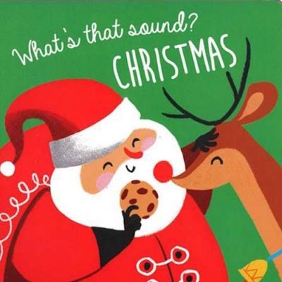 What s That Sound? Christmas 耶誕節硬頁音效書