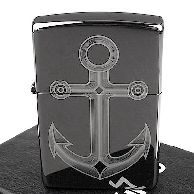 ZIPPO 美系~Anchor Design-船錨圖案設計打火機
