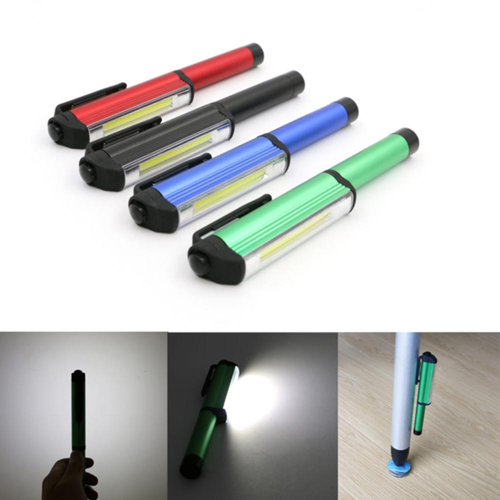 iSFun 筆型工作燈 帶磁鐵LED強光手電筒燈 隨機色
