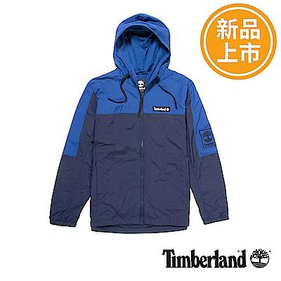 Timberland 男款藍色風衣外套
