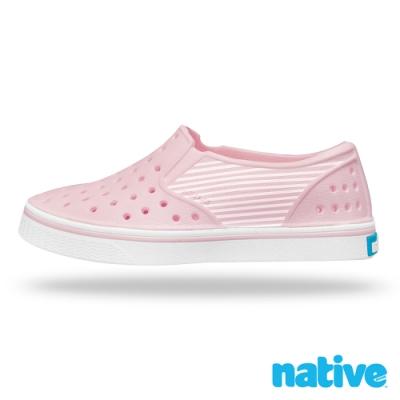native 小童鞋 MILES 小邁斯鞋-海軍紋粉