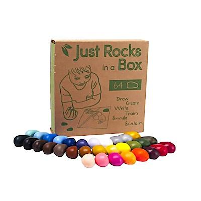 美國【Crayon Rocks】酷蠟石 64顆, 只是紙盒版
