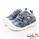 雨傘牌 超輕量學院風學步鞋款 EI93210藍(寶寶段)