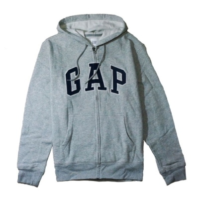 GAP 男生 連帽外套 灰 1443