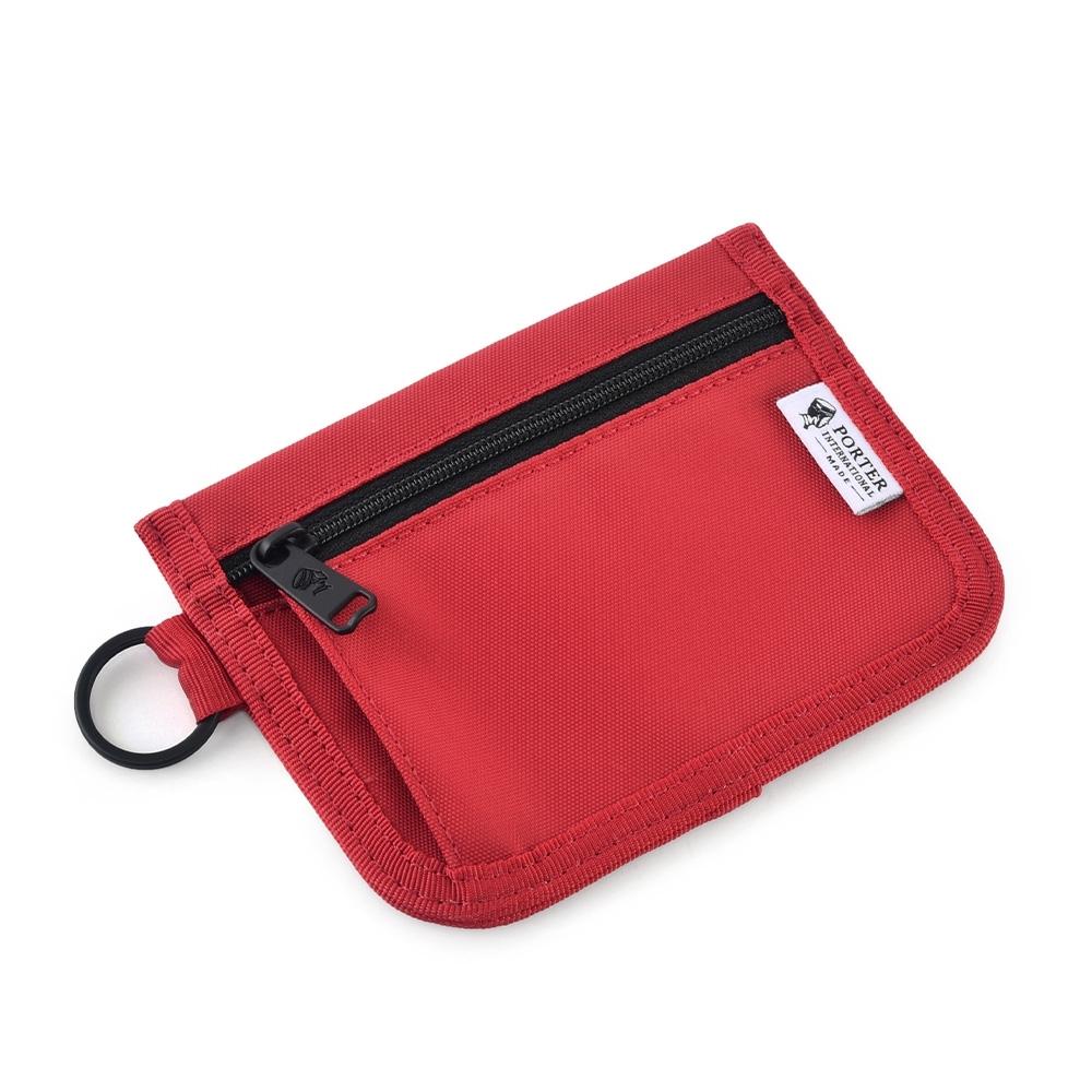 [加價購]PORTER - 零錢包(M) - 紅