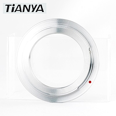 Tianya M42轉成Canon佳能EOS即EF/EF-S接環(有檔板.有遮蔽環)轉接環