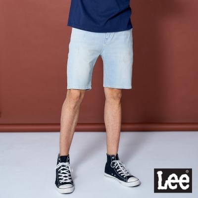 Lee 901 玉石涼感+四面彈牛仔短褲 Jade Fusion 男款 淺色