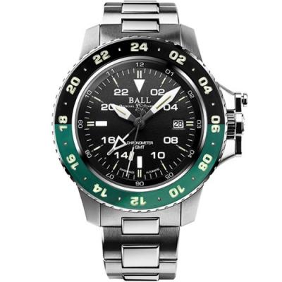 BALL波爾Engineer GMT II機械錶(DG2018C-S11C-BK)