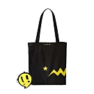 agnes b. Sport b. 摺疊購物袋 (黃)