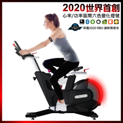 【皇娥ATTACUS】心率/功率飛輪健身車AP1000