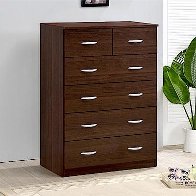 《HOPMA》DIY巧收雅緻五層六抽斗櫃/抽屜櫃/收納櫃-寬80 x深40.5 x高106cm