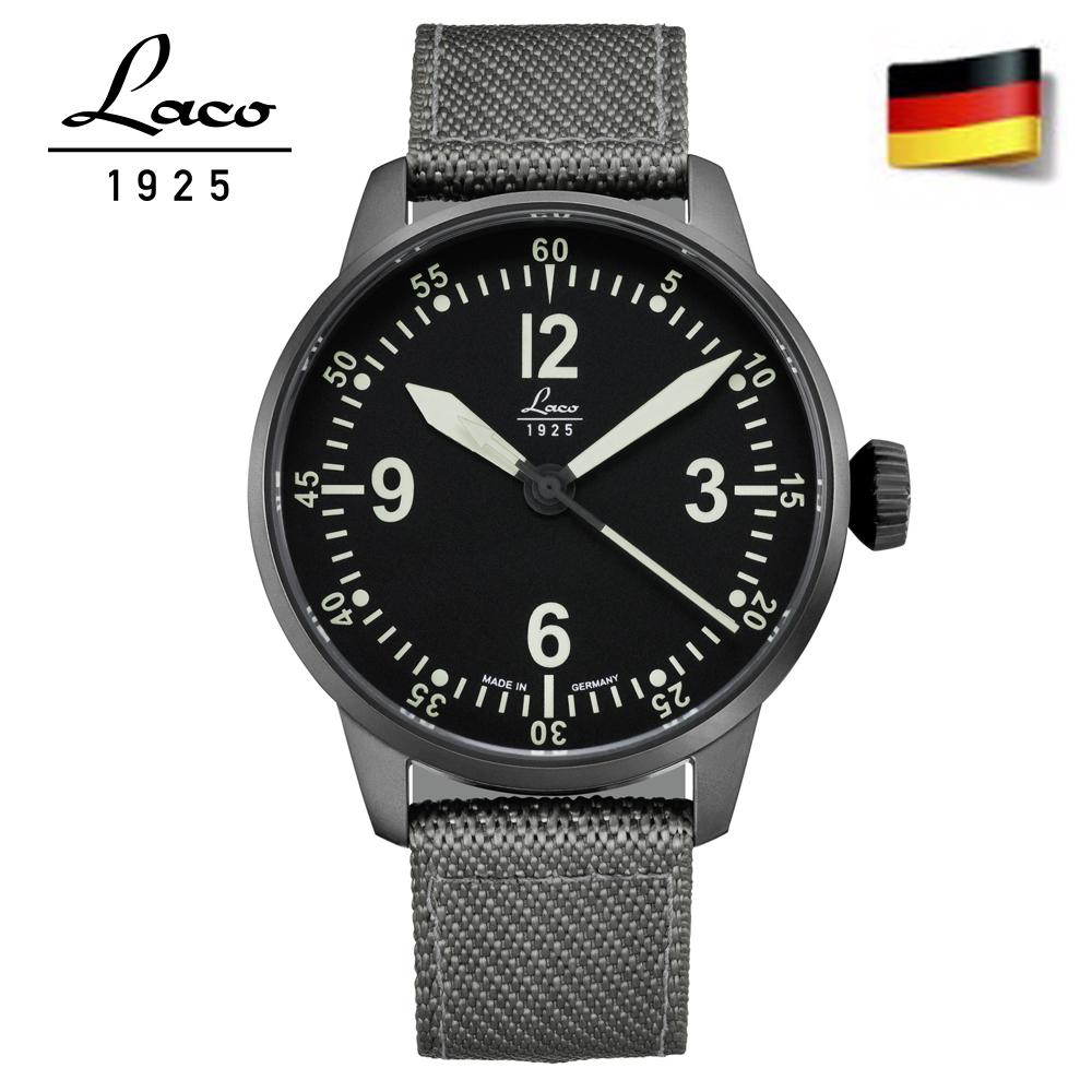 Laco 朗坤861907 BELL X-1 自動機械表 男錶 手錶 軍錶/42mm