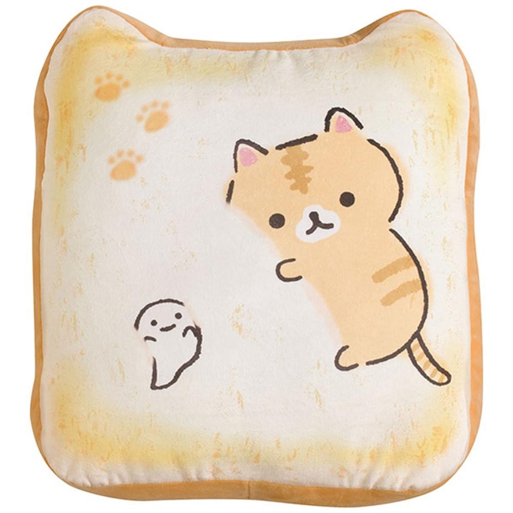 捲心奶油貓土司麵包系列土司造型抱枕 San-X