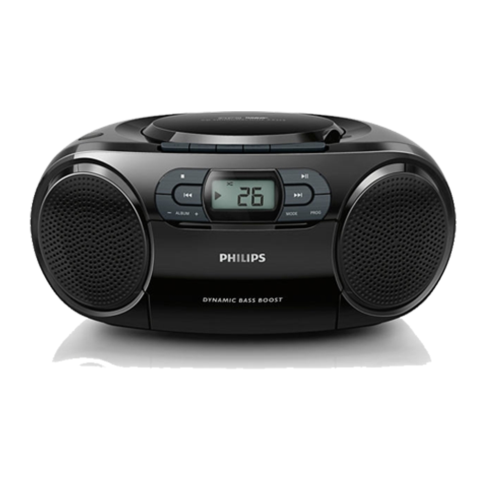 PHILIPS 飛利浦手提CD/MP3/USB/卡帶 音響AZ329