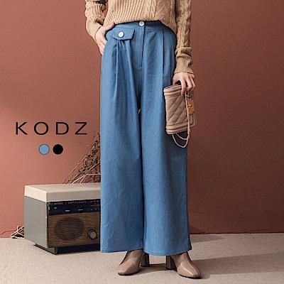 東京著衣-KODZ 高挑長腿仿牛仔修身長褲-S.M.L(共二色)