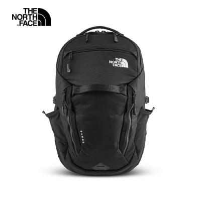 The North Face SURGE  雙肩休閒後背包 黑 -NF0A3ETVJK3