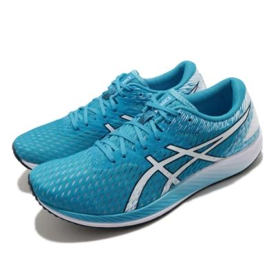 Asics 慢跑鞋 Hyper Speed 運動 男鞋 亞瑟士 競賽訓練鞋 輕量 透氣 藍 白 1011B025401