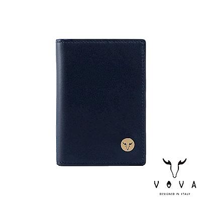 VOVA 費城系列3卡名片夾-深海藍