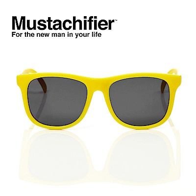 Hipsterkid 美國 抗UV時尚嬰童偏光太陽眼鏡 - 黃色款 (3-6歲)