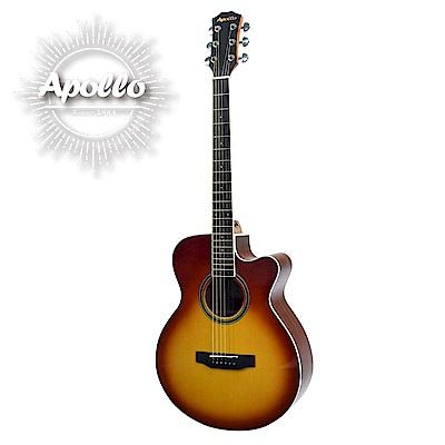 APOLLO A2-OMC 缺角民謠吉他 煙燻漸層色款