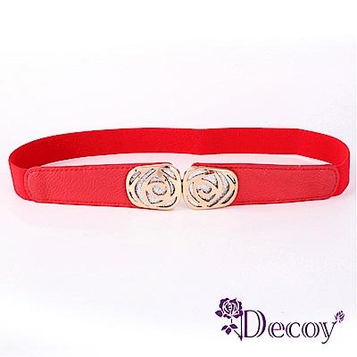 Decoy 星空薔薇 彈性伸縮皮革腰封 多色可選