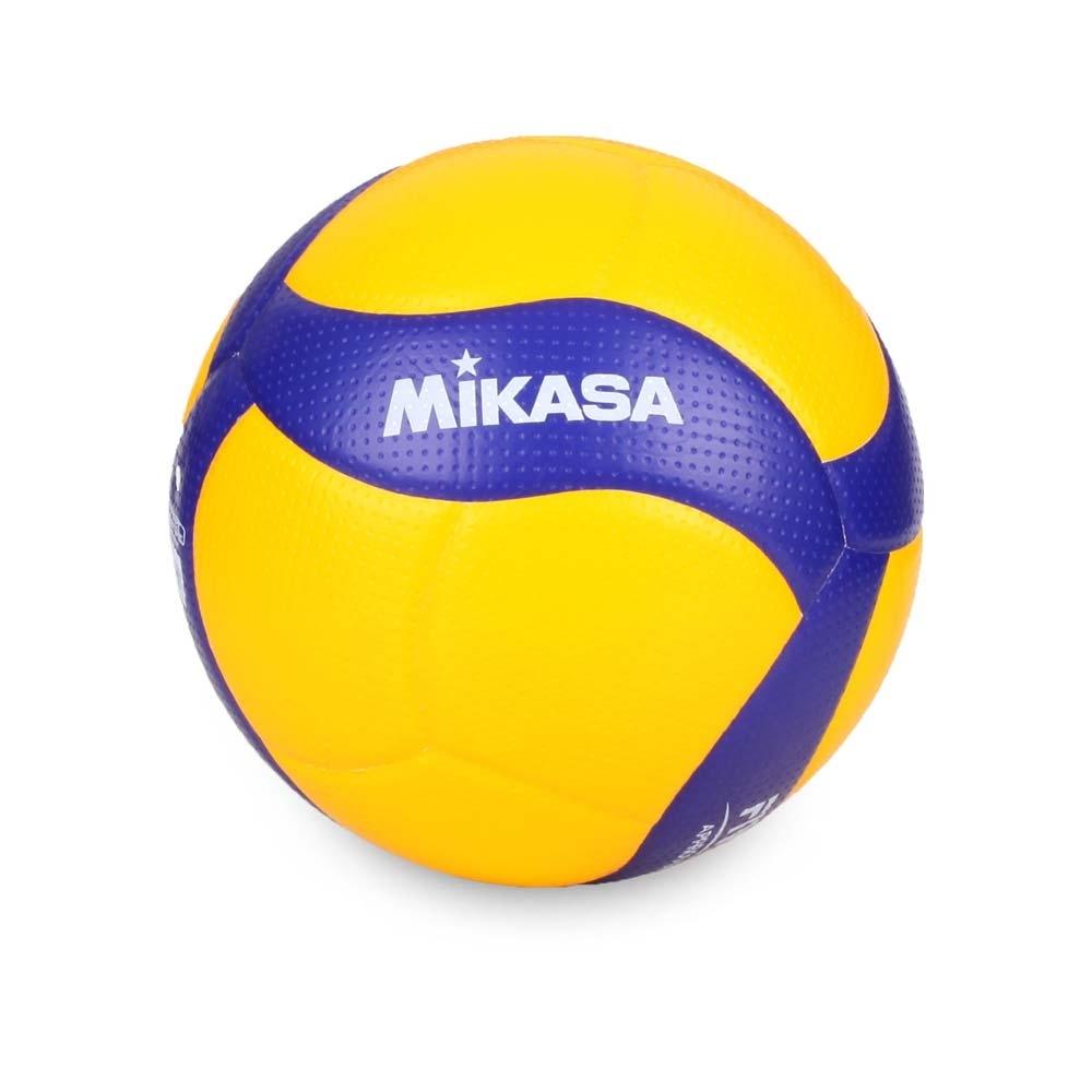 MIKASA 超纖皮製練習型排球 #5 黃藍