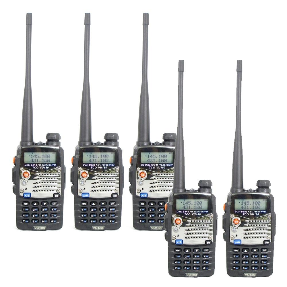 TCO VU-180 VU雙頻無線電對講機 (5入組)