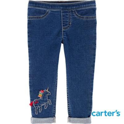 【Carter s】丹寧獨角獸長褲(12M-24M) (台灣總代理)