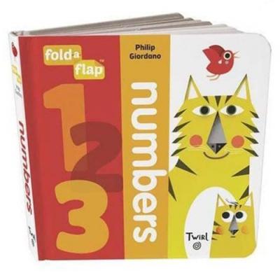 Fold-A-Flap:Numbers 數字翻翻書硬頁本
