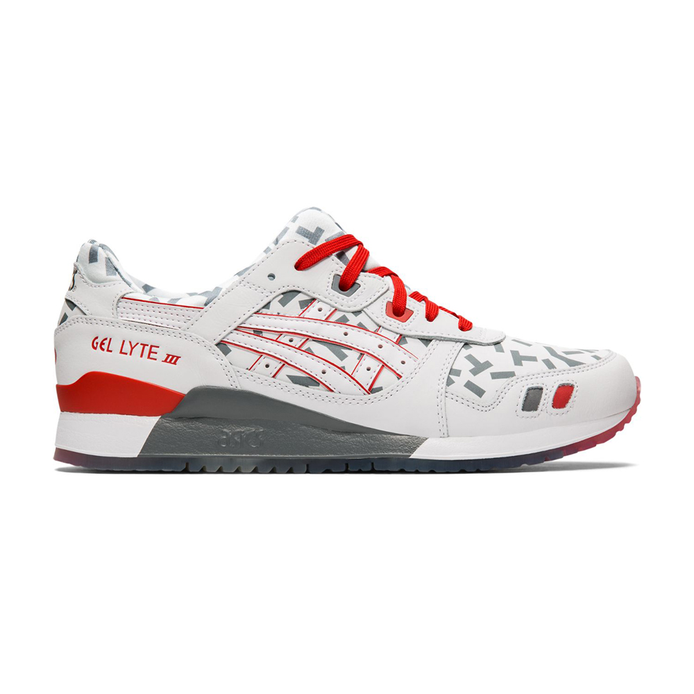 ASICS GEL-LYTE III GI Joe男休閒鞋 (白)