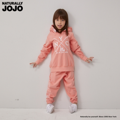 NATURALLY JOJO 小童NYC感恩長褲-粉紅