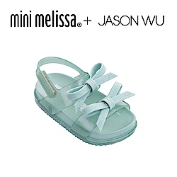 Mini Melissa + JASON WU 蝴蝶結寶寶涼鞋-藍色