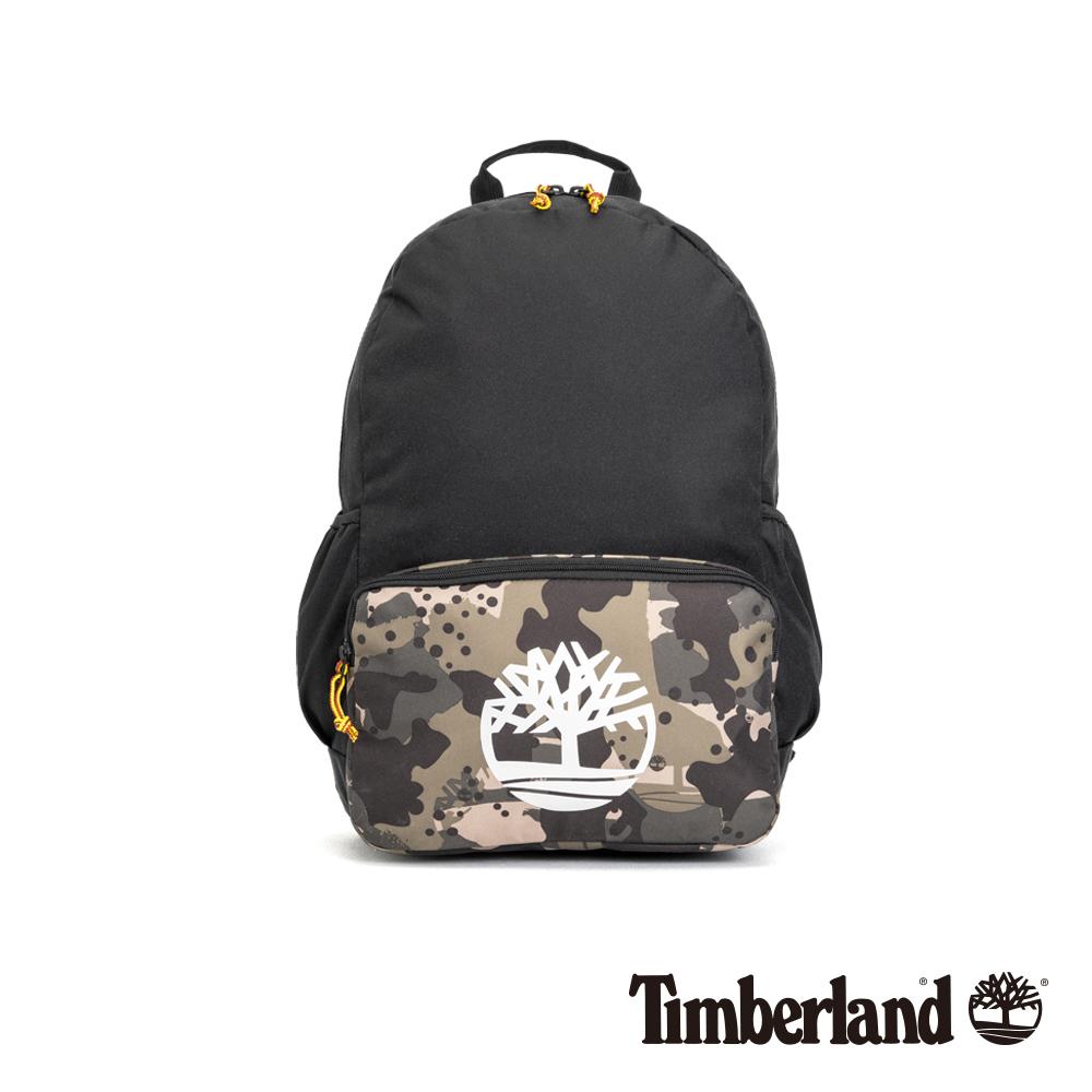 Timberland 中性撞色印花後背包|A1CZ1