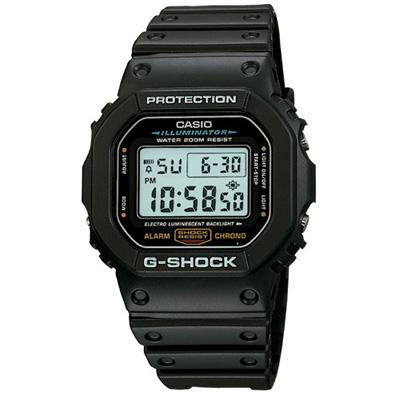 G-SHOCK DW- 5600 潮流經典錶(DW- 5600 E- 1 )-黑/ 42 . 8 mm