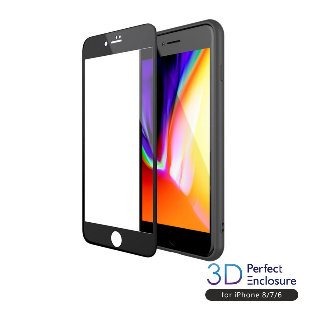 PERFECT ENCLOSURE iPhone專用3D強化2x耐衝擊玻璃膜