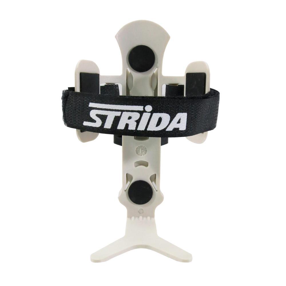 STRIDA速立達 Monkii Cage兩段式V字扣萬用型快拆水壺架含座-白