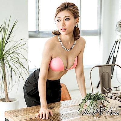 Show Bra隱形內衣完美包覆款素顏美人粉色