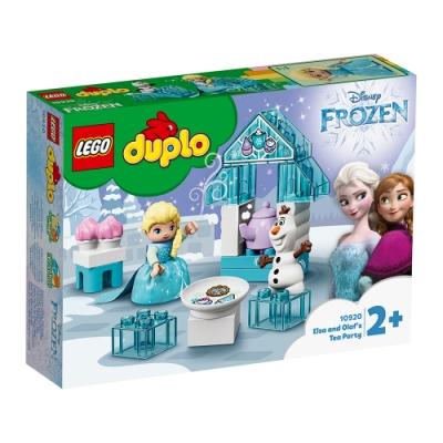 樂高LEGO Duplo幼兒系列 - LT10920 艾莎和雪寶的茶會