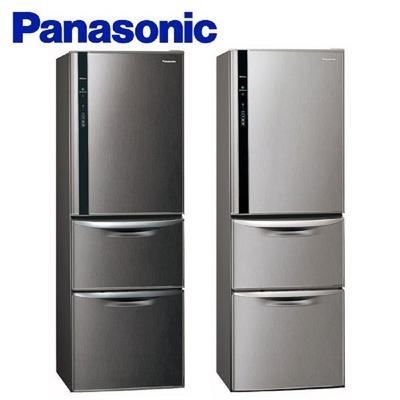 Panasonic 國際牌 三門385L一級能效變頻電冰箱 NR-C389HV -含基本安裝+舊機回收